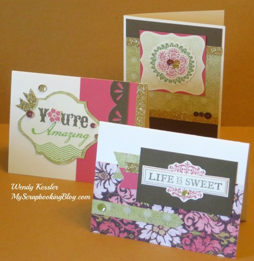 Ivy Lane Card Kit by Wendy Kessler