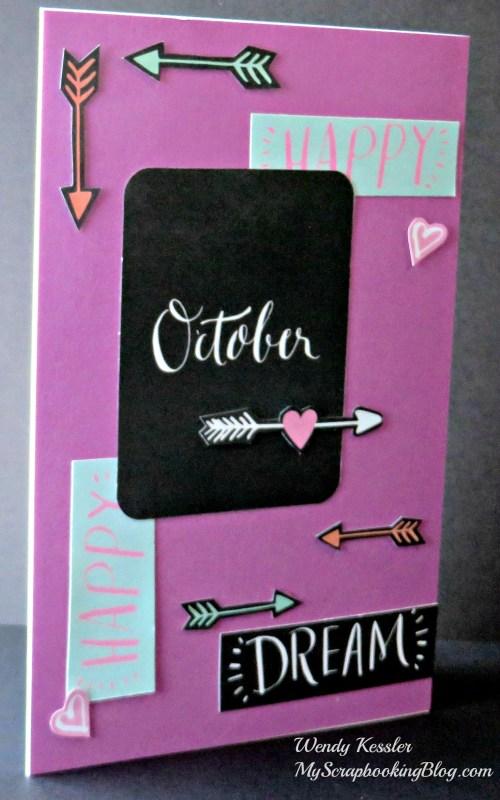 October Card by Wendy Kessler