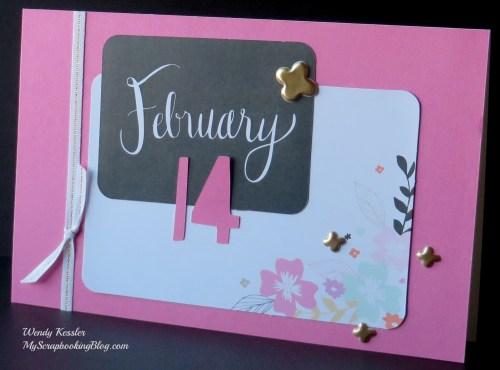 February Card by Wendy Kessler