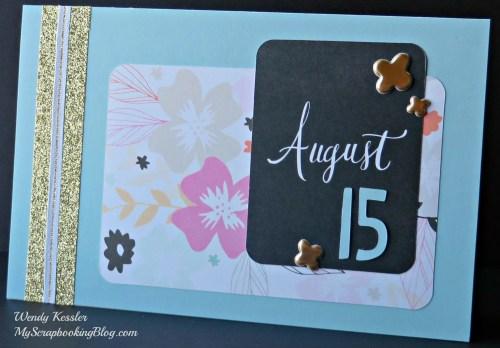 August Card by Wendy Kessler