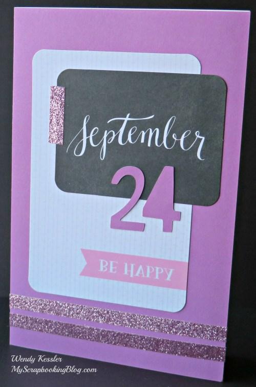 September Card by Wendy Kessler