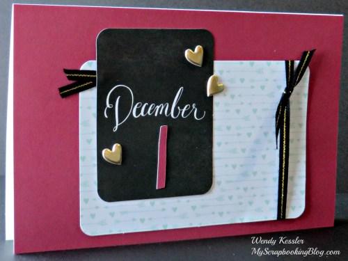 December Card by Wendy Kessler