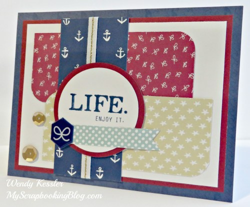 Life Card by Wendy Kessler