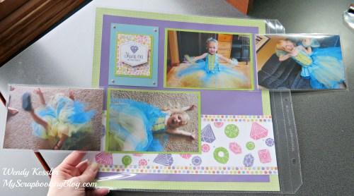 Flip Flaps example layout by Wendy Kessler