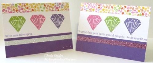 Diamond Cards by Wendy Kessler