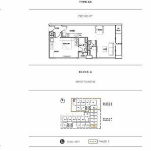 Colony Infinitum Klcc Floor Plan Type A3 Mysgprop
