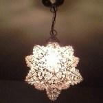 Beaded star light