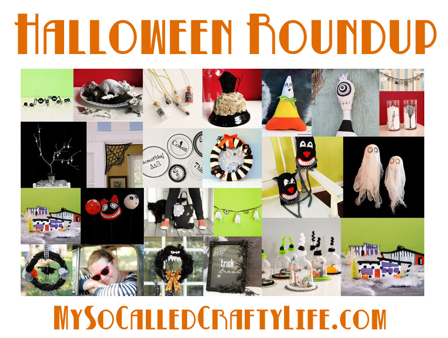 My So Called Crafty Life's Halloween Roundup