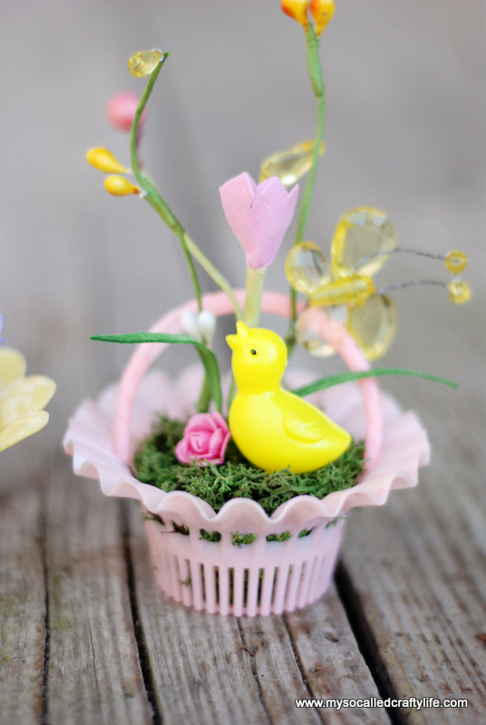 diy mini easter gardens