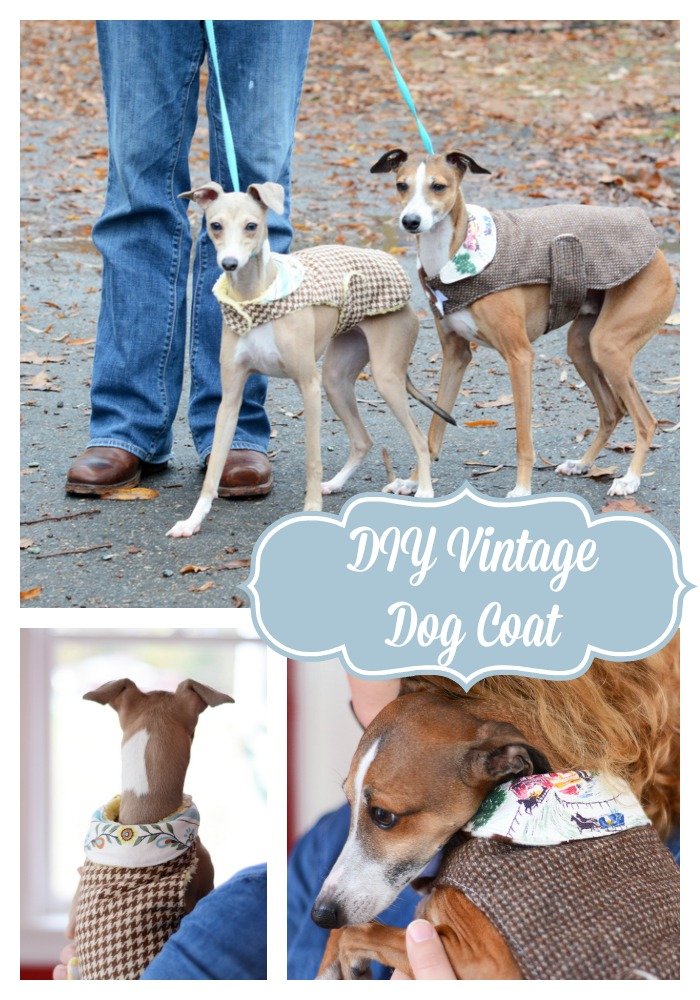Kitschmas Gifts- DIY Vintage Wool Dog Coat