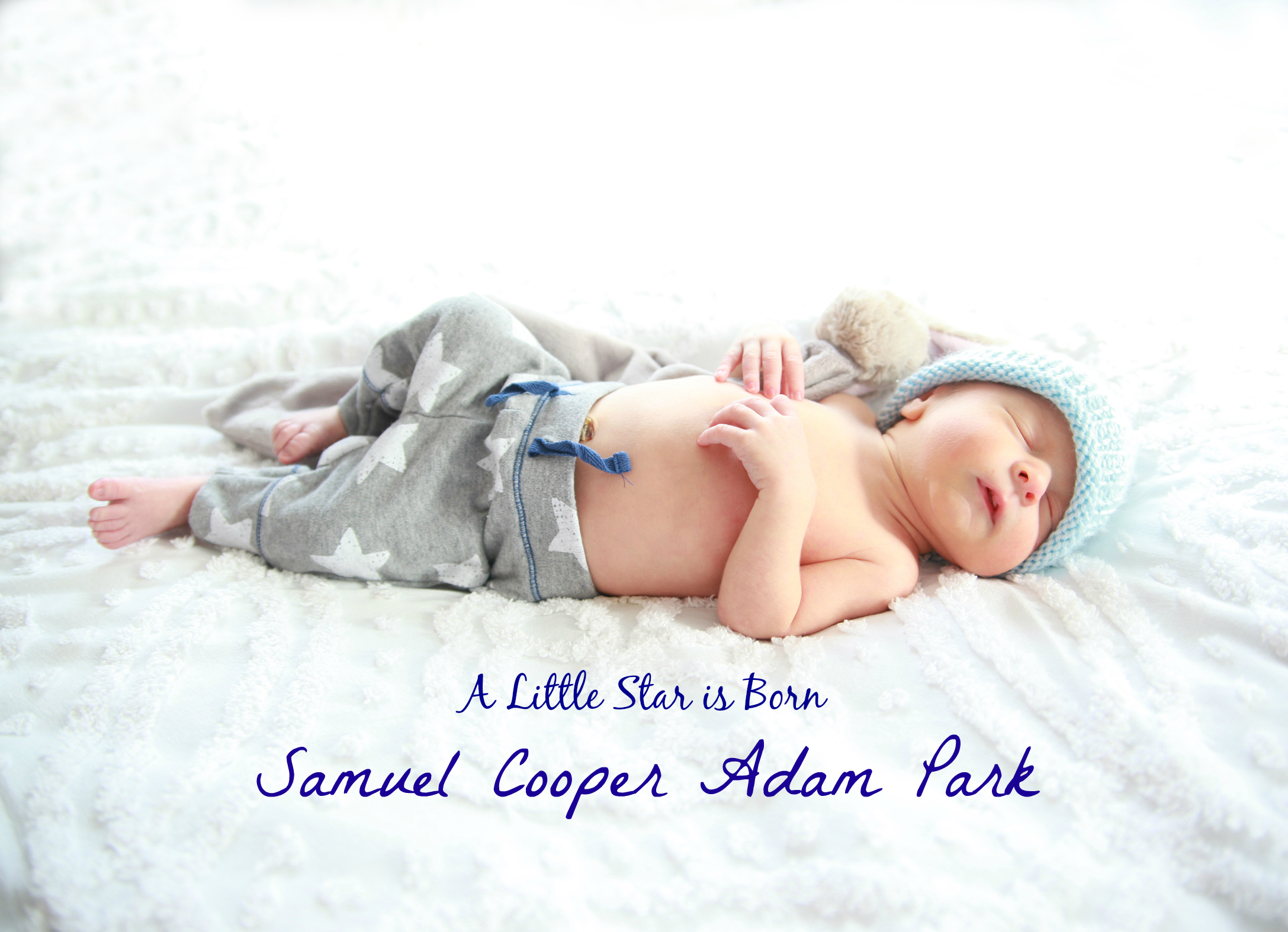 Introducing Baby Sam