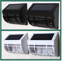 Two Solar Wall Mount Lights