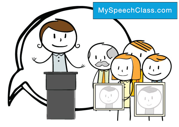 Commemorative Speech \u2022 My Speech Class