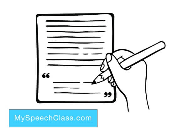 Writing the Conclusion of a Speech \u2022 My Speech Class