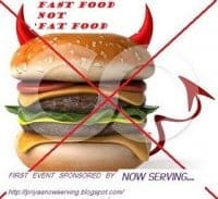 fast food not fat food