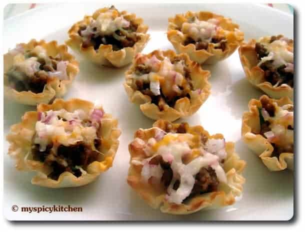 Ground Turkey Canapes