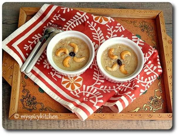 Aloo kheer, alu kheer, potato kheer, aloo sweet, potato milk pudding, potato pudding, blogging marathon