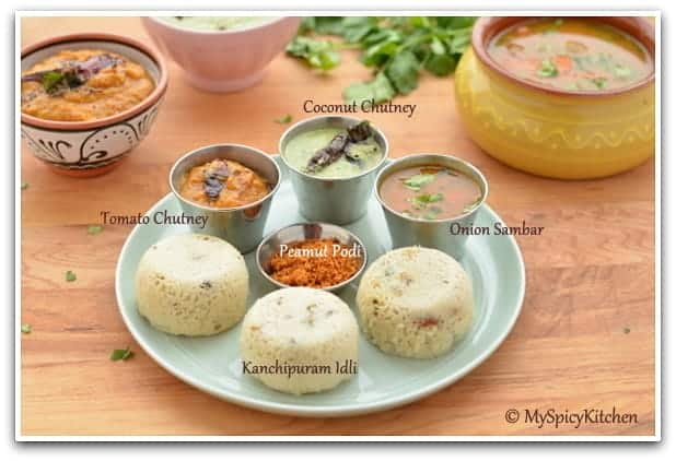 Kanchipuram idli chettinad tomato chutney tamilnadu for Aharam traditional cuisine of tamil nadu