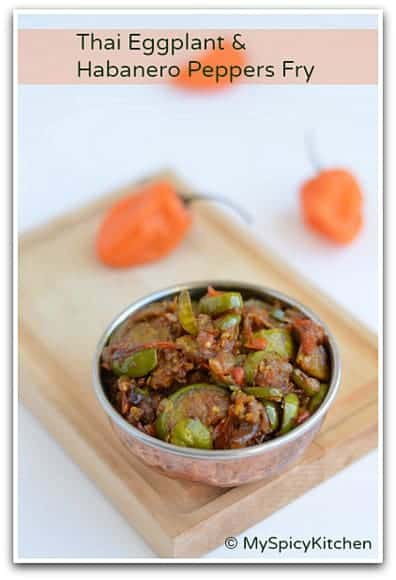 Green Brinjal Curry, Sikkim Food, Green Eggplant Stir Fry, Blogging Marathon,
