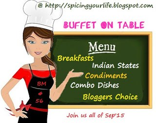 BM#56 Buffet on Table
