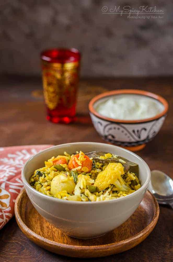 Toor Dal Khichdi in Pressure Cooker