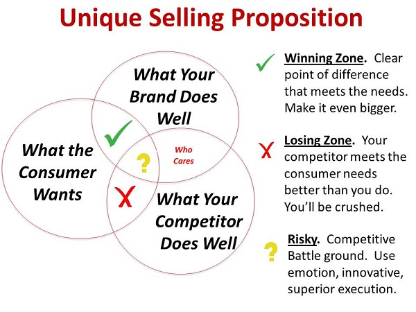 proven strategies to grow your startup, unique selling point