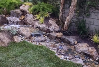 Pondless Waterfall Beautiful Los Angeles Calabasas