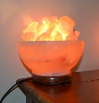Himalayan Salt Lamp Bowl (Mood Enhancing / Breathing ...