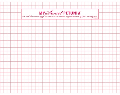 Original Grid Paper Pad - DOUBLE SIDED