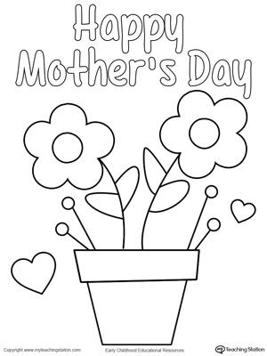 Mother\u0027s Day Homemade Card MyTeachingStation