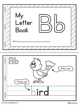 Letter B Mini Book Printable MyTeachingStation