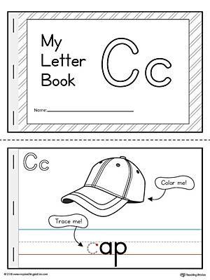 Letter C Mini Book Printable MyTeachingStation