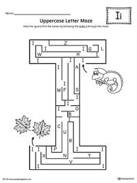Letter I Do-A-Dot Worksheet | MyTeachingStation.com