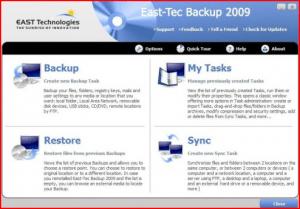 Grab Your Free East-Tec Backup 2009