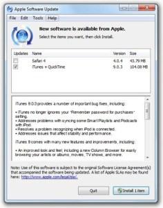 iTunes9.0.3