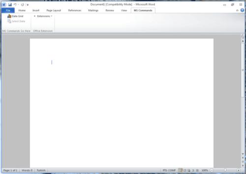 Microsoft Office Word 15.0.2703.1000