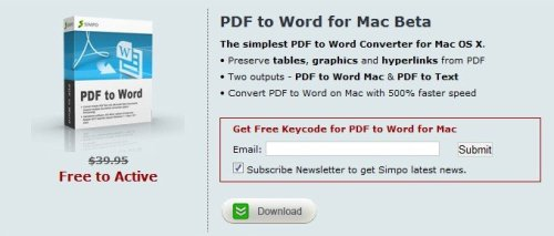 Simpo PDF to Word Converter