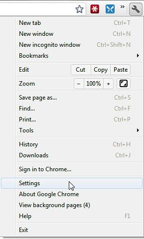 Open-Chrome-Settings