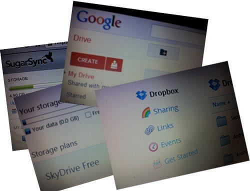 Google Drive vs Dropbox vs SkyDrive vs SugarSync Cloud Storage Comparison