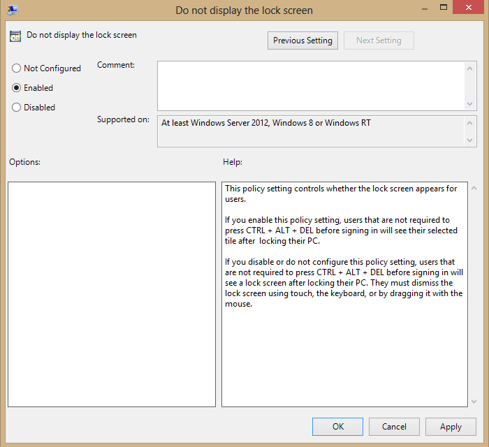 Disable Windows 8 Lock Screen [How To, Tips]