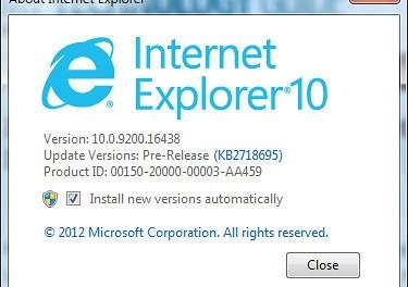 Internet Explorer 10 for Windows 7 Released, Direct Download Links