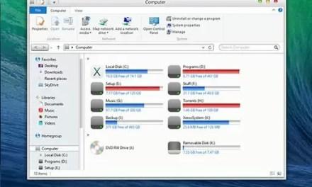 OS X Mavericks Transformation Pack For Windows