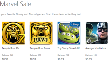 Big Savings On Windows Phone Games: Select Marvel, Disney Games Up For Sale Until June 2nd