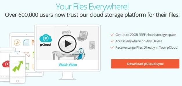 pCloud Brings Cloud Storage in an Innovative Form
