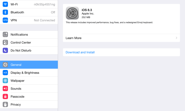 Download iOS 8.3 for iPhone, iPad, iPod Touch, Brings Numerous Improvements