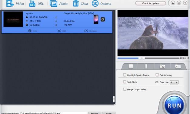 WinX HD Video Converter Deluxe Giveaway, Convert 4K Videos