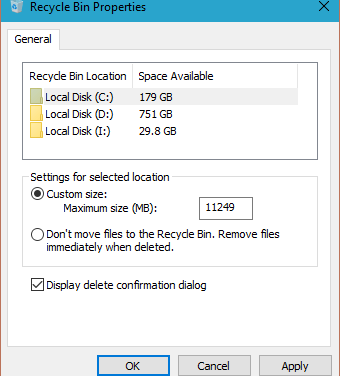 How To Enable Delete Confirmation Dialog In Windows 10, Windows 8.1/8