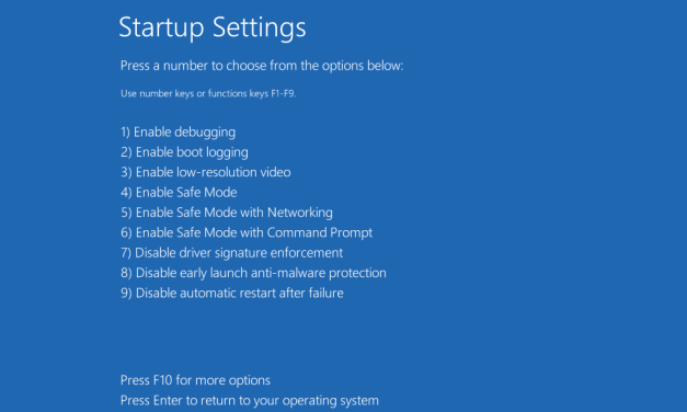 How to Enable or Disable Device Driver Signing in Windows