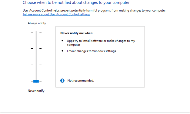 How To Enable or Disable UAC (User Account Control) in Windows 10, Windows 8.1, 8, 7