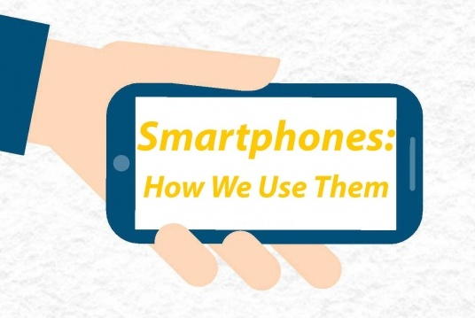 Smartphones: How We Use Them? (Infographic)